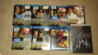 James Bond blu rays - mint condition- most still wrapped