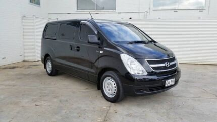 2012 Hyundai iLOAD TQ2-V MY12 Timeless Black 6 Speed Manual Van Cheltenham Charles Sturt Area Preview