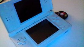 Nintendo DS Lite with Case and Screen Cleaner