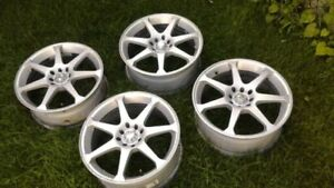 """MSR alloy rims 17X7"""".....Made in USA"""