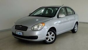 2006 Hyundai Accent LC MY04 GL Silver 5 Speed Manual Hatchback Hobart CBD Hobart City Preview