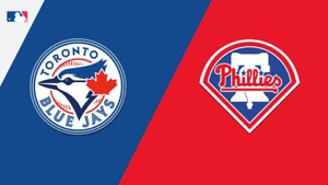 2 Toronto Blue Jays v Philadelphia Phillies - S129 R22 SATURDAY