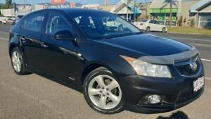 2012 Holden Cruze JH Series II MY12 SRi Black 6 Speed Manual Hatchback Bungalow Cairns City Preview