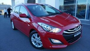 2013 Hyundai i30 GD Tourer Active 1.6 GDi Red 6 Speed Automatic Wagon