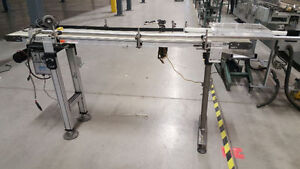 conveyors, Conveyer assorted used belted Dorner Series 2200