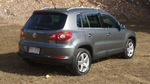 2010 Volkswagen Tiguan 5N MY11 147TSI DSG 4MOTION Grey 7 Speed Sports Automatic Dual Clutch Wagon