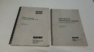 Prentice Hydro-ax 110bc Sr Operators Parts Manual Ci272