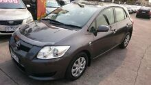 2007 Toyota Corolla ZRE152R Ascent Grey 4 Speed Automatic Hatchback Maidstone Maribyrnong Area Preview