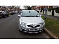 2008 vauxhall corsa cdti 1.2L diesel manual 5 door £20 road tax a year