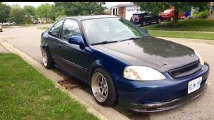 1999 Honda Civic DX Coupe (2 door)