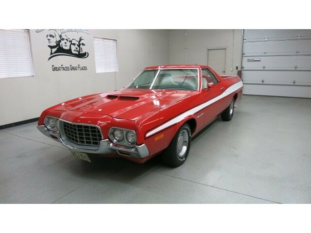 """1972 Ford Ranchero """"gt"""" 2 Dr. In Bright Red Finish W ..."""