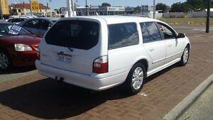 2004 Ford Falcon BA Futura White 4 Speed Automatic Wagon Victoria Park Victoria Park Area Preview