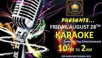 YOU WANT LIVE YOU GOT IT.... KARAOKE FRIDAY