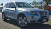 2011 BMW X3 F25 xDrive30d Steptronic Blue 8 Speed Automatic Wagon Bungalow Cairns City Preview