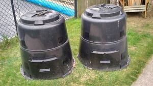 2x Green Earth Compost Bins - 1 remaining