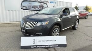 2014 Lincoln MKX AWD 3.7L V6 Leather, Moon, Navi