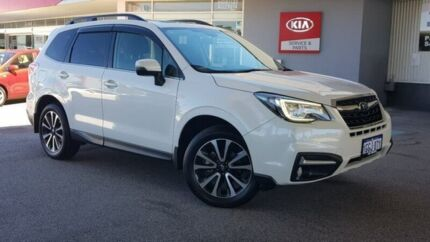 2017 Subaru Forester S4 MY17 2.5i-S CVT AWD White 6 Speed Constant Variable Wagon Glendalough Stirling Area Preview