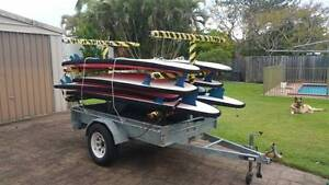 Stand Up Paddling Trailer & SUPs Ashmore Gold Coast City Preview