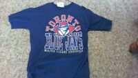 TORONTO BLUE JAYS LARGE MENS BASEBALL SHIRT