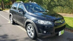 2012 Holden Captiva CG Series II 7 CX (4x4) Black 6 Speed Automatic Wagon Prospect Prospect Area Preview