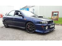 1999 SUBARU IMPREZA TURBO SPARES OR REPAIRS NO MOT NEEDS TLC