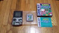 Gameboy atomic purple kirby pinball land complete