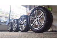 Wheels peugeot 195/55 R16