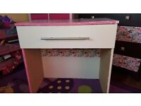 Girls butterfly desk