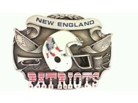 New England Patriots Gürtelschnalle