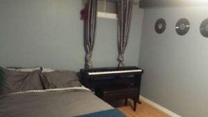 1 Bedroom for rent in 2 bedroom basement apartment