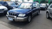 2001 Subaru Forester 79V MY02 Limited AWD Blue 5 Speed Manual Wagon Heatherton Kingston Area Preview