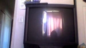 30 inch tube tv, great for older game systems or kids room