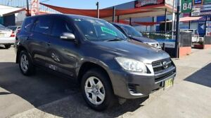2010 Toyota RAV4 ACA33R MY09 CV Grey 4 Speed Automatic Wagon Lidcombe Auburn Area Preview