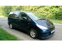 Toyota previa 2.0 D4D cdx 7 seater superb drives hpi clear long mot cheapest price