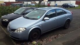 Nissan premera 2006 for sale
