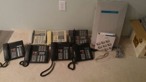 Meridian Phone System with 8 phones