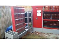 Multistore plastic boxes van racking for sale