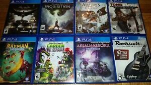PS4 Action Games (Various Prices)