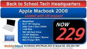 BACK TO SCHOOL - Apple Macbook 2008