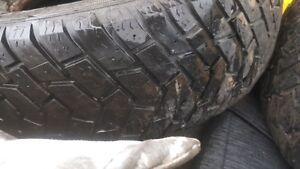 215 70 15 Goodyear Ultra Grip ( 3 tires ) no holes