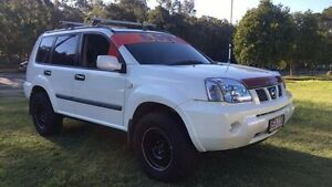 2004 Nissan X-Trail T30 ST (4x4) White 5 Speed Manual Wagon Clontarf Redcliffe Area Preview
