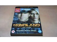 HOMELAND-COMPLETE FIRST SEASON-12 EPISODES ON 4 DVD'S-DVD BOX SET