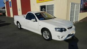 2008 Ford Falcon BF MkII XLS White 4 Speed Auto Seq Sportshift Utility Coopers Plains Brisbane South West Preview