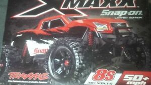 RED traxxas snap on edition xmaxx x-maxx rc truck new