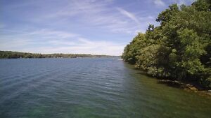 2.5 Acre Waterfront Lot on Howe Island!