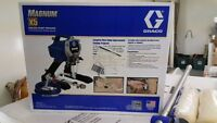 Graco Magnum X5 Airless Paint Sprayer + Accessories, NEW