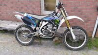 Trade My Dirt Bike (2008 Yamaha YZ 450F) For A SLED! or ???