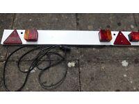 Road trailer Lighting Board