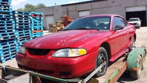 WE ARE PARTING OUT A 1995 FORD MUSTANG Windsor Region Ontario image 1