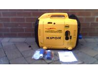 kipor ig2600 petrol suitecase inverter generator brand never been used.